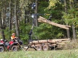 Vyvážečka dřeva Vahva Jussi 320