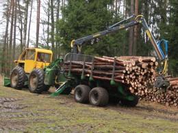 Vyvážečka dřeva a LKT 75