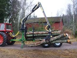 Vyvážečka dřeva