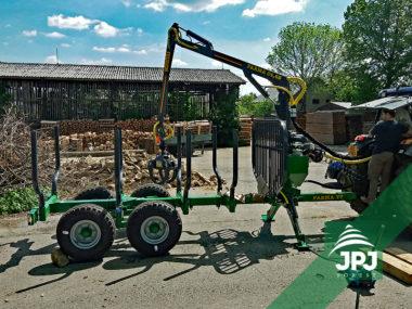 vyvážečka dřeva Farma CT 4,6 - 7 S