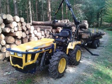 Vyvážečka dřeva za malotraktor