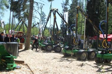 Veletrh lesnické techniky SkogsElmia 2015