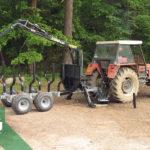 Traktorová vyvážečka