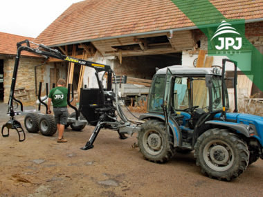 Vyvážečka dřeva Vahva Jussi