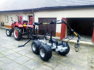 Vyvážečka za malotraktor