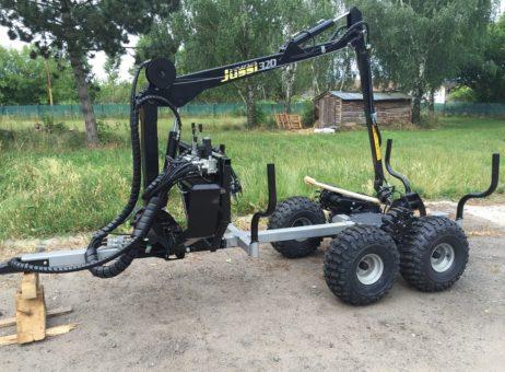 Vyvážečka za malotraktor nebo ATV