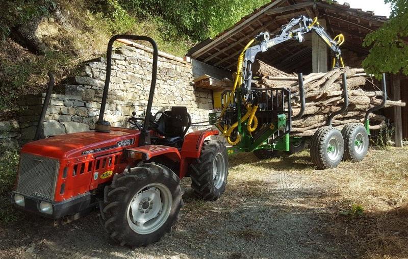 Traktorová vyvážečka FARMA CT 4,2-6