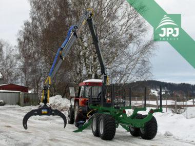 Vyvážečka za traktor