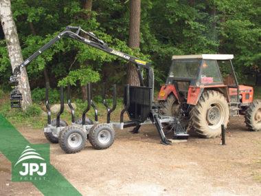 3 bodové traktory