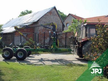 Vyvážečka FARMA CT 5,1-8 za traktor Belarus