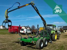 Vyvážečka dřeva za traktor Farma CT 6,3-9