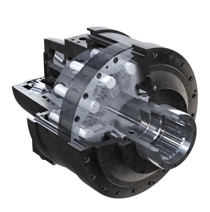 Hydraulické motory Black Bruin série S