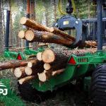 Vyvážečka dřeva Farma 14t