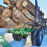 Vyvážečka dřeva Farma T17